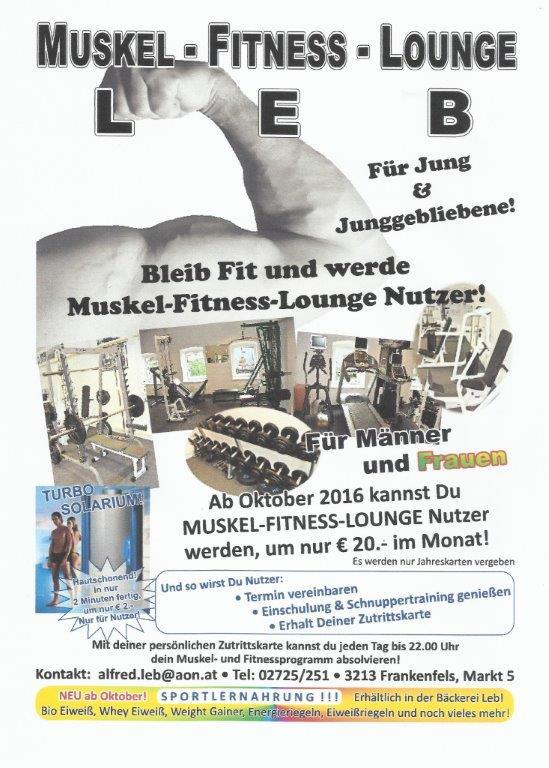 Fitness Loung Leb